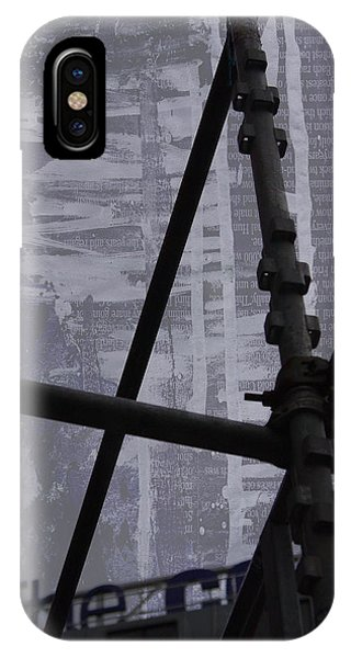 City Scape iPhone Case - Sharp by Laura Dodd