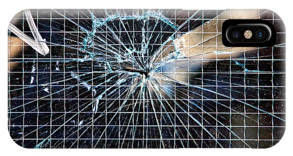 Shattered But Not Broken Phone Case by Peter Tellone