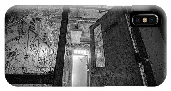 Urban Decay iPhone Case - Shattered Bw by Michael Ver Sprill