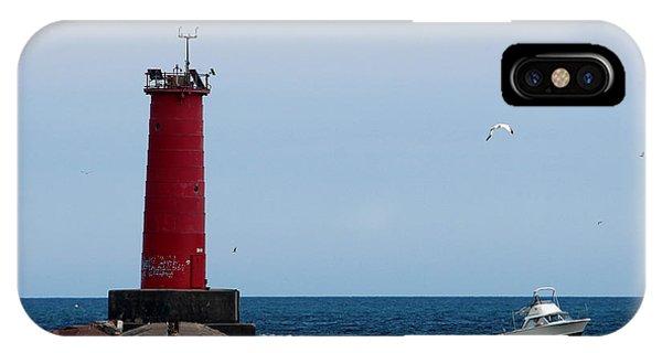 Sheboygan Breakwater Lighthouse IPhone Case