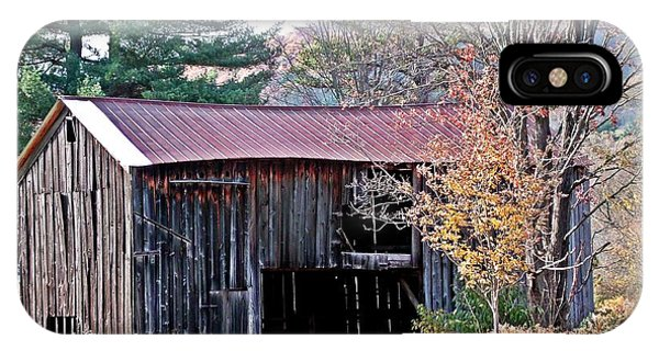 Shed In Autumn IPhone Case