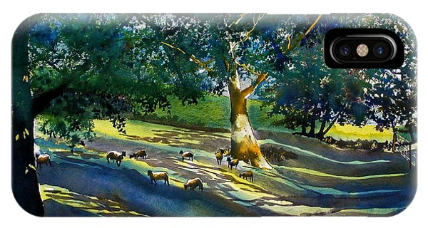 Sheep And Shade IPhone Case