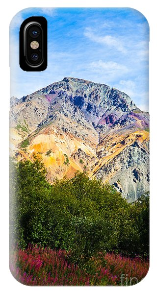 Sheep Mountain Alaska   IPhone Case