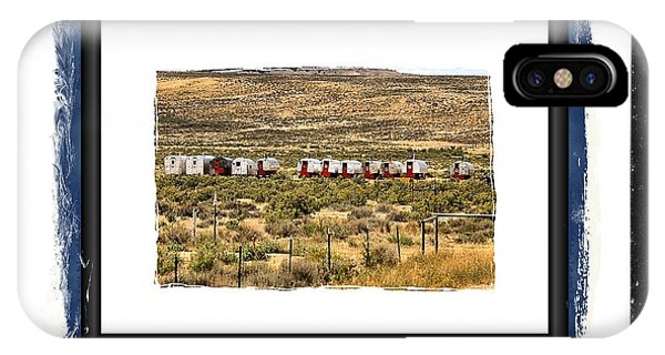 Sheepwagons IPhone Case