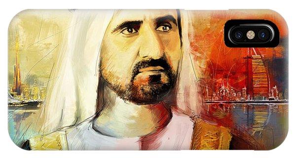 Sheikh Mohammed Bin Rashid Al Maktoum IPhone Case