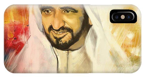 Sheikh Rashid Bin Saeed Al Maktoum IPhone Case