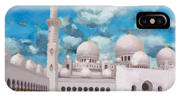 Bounties Of Allah. God iPhone Case - Sheikh Zayed Mosque by Catf