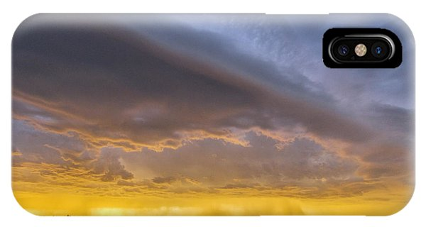 Shelf Cloud At Sunset IPhone Case