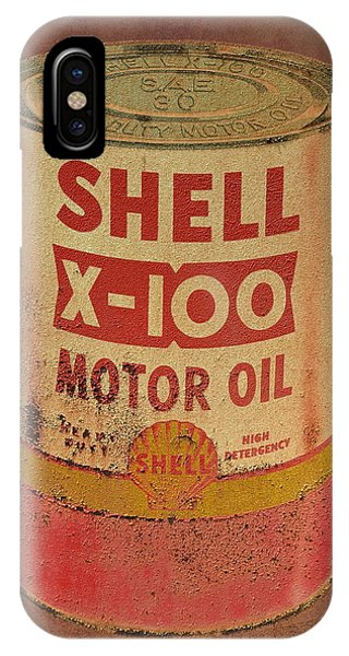 Shell Motor Oil IPhone Case