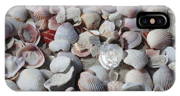Shells On Treasure Island IPhone Case
