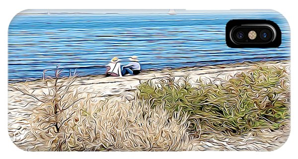 Shelter Island Beach IPhone Case