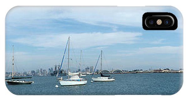 Shelter Island Panorama IPhone Case