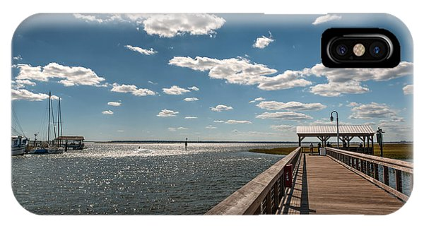 Shem Creek Pavilion  IPhone Case