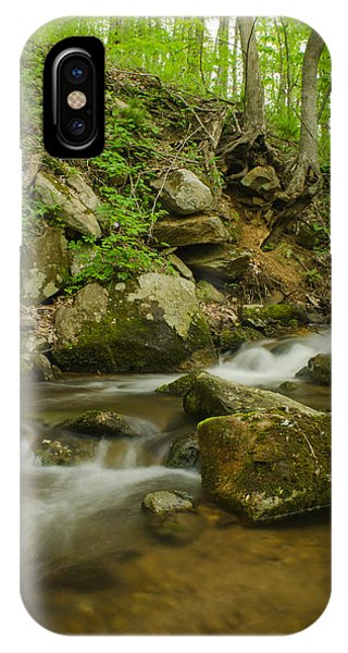 Brian Rock iPhone Case - Shenandoah Stream No. 2 by Brian Rock