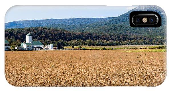Shenandoah Valley Panorama IPhone Case
