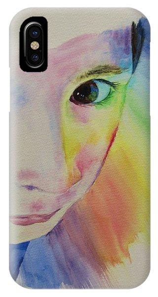 She's A Rainbow IPhone Case