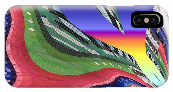 She's Leaving Home Abstract IPhone Case
