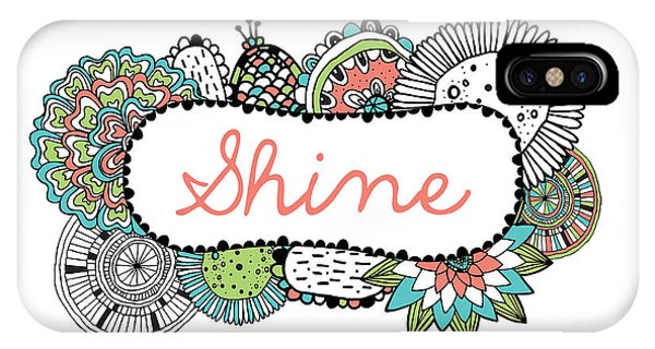 Positive iPhone Case - Shine Part 2 by MGL Meiklejohn Graphics Licensing