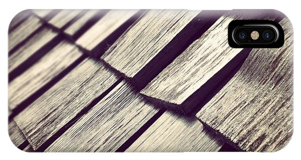 Architecture iPhone Case - Shingles by Christy Beckwith