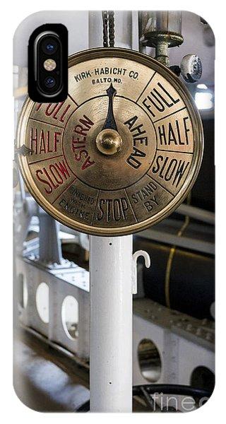 Ship Control Telegraph IPhone Case