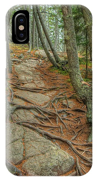 IPhone Case featuring the photograph Ship Harbor Trail by Michael Kirk