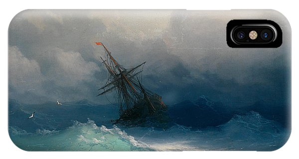Ship On Stormy Seas IPhone Case