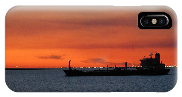 Ship Outbound IPhone Case