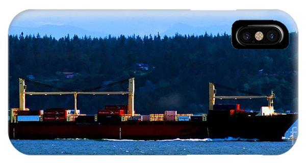 Shipping Lane IPhone Case