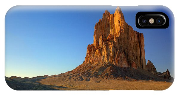 Shiprock Sunset IPhone Case