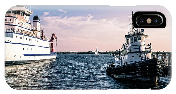 Ships Of Woods Hole IPhone Case