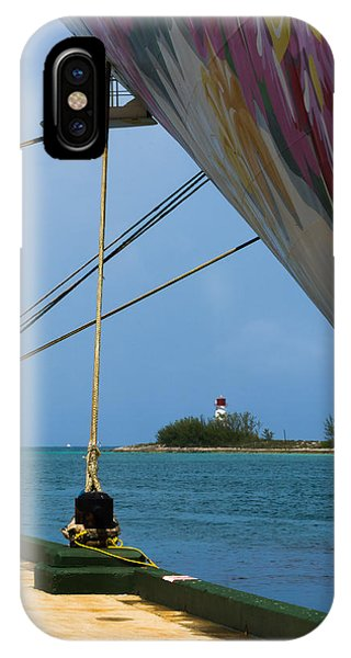 Ship's Ropes And Lighthouse IPhone Case