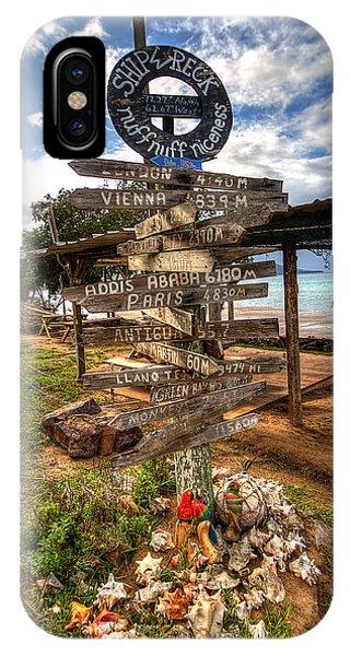 Shipwreck Beach IPhone Case