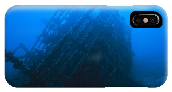Shipwreck On Govenors River Walk IPhone Case