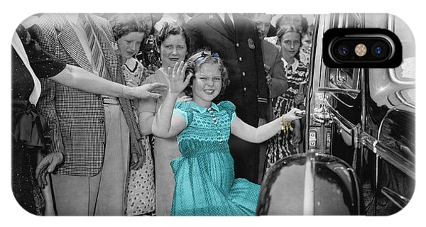 Shirley Temple IPhone Case