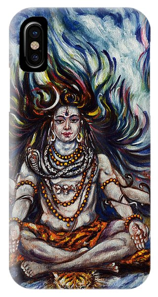 Shiva - Ganga - Harsh Malik IPhone Case
