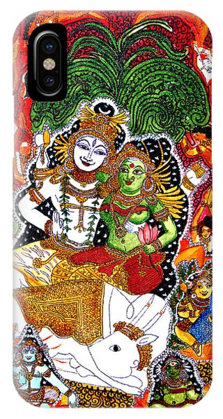 Shiva Kudumba IPhone Case