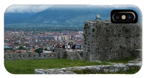 Shkoder From Rozafa Castle - Albania IPhone Case