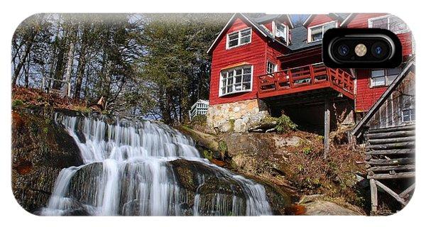 Shoal Creek Falls  IPhone Case