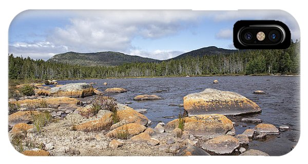 Shoal Pond - Pemigewasset Wilderness New Hampshire Usa IPhone Case