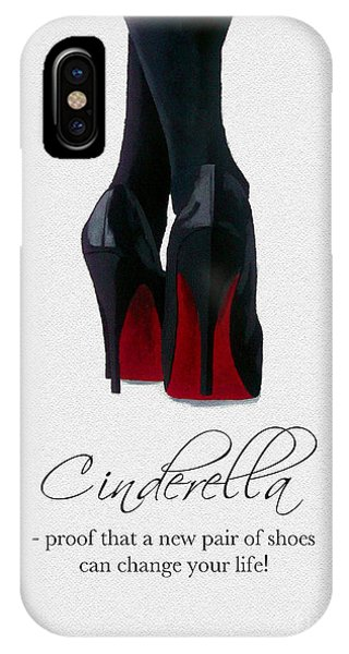 Print iPhone Case - Shoes Can Change Your Life by My Inspiration