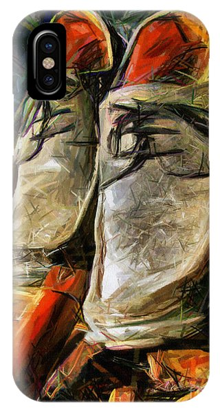 Shoes - Drawing IPhone Case