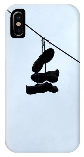 Shoes On The Line IPhone Case