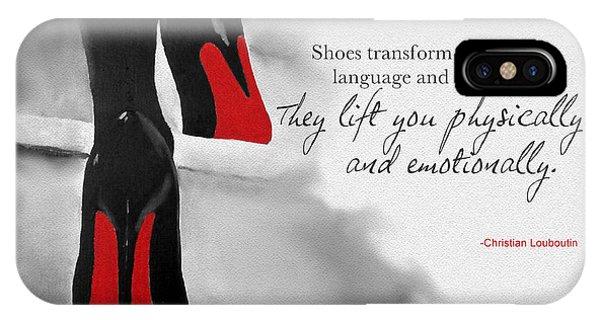 Shoes Transform You IPhone Case