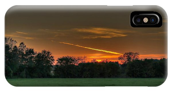 Shooting Sunset IPhone Case