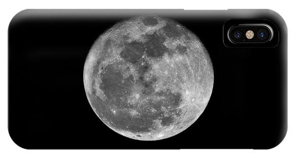 Shooting The Moon IPhone Case