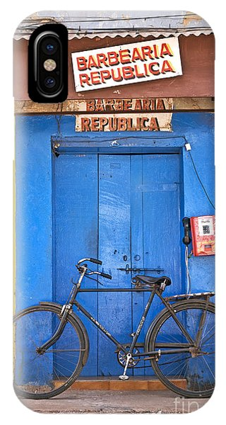Shop On Street In Goa India IPhone Case