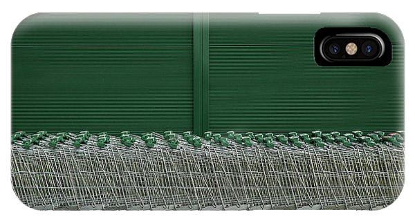 Cart iPhone Case - Shopping Trolleys by Inge Schuster