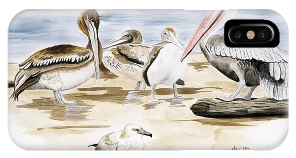 Shore Birds IPhone Case