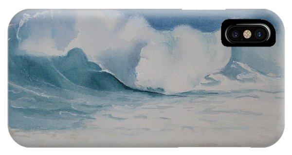 Shore Breaker Phone Case by Parrish Hirasaki