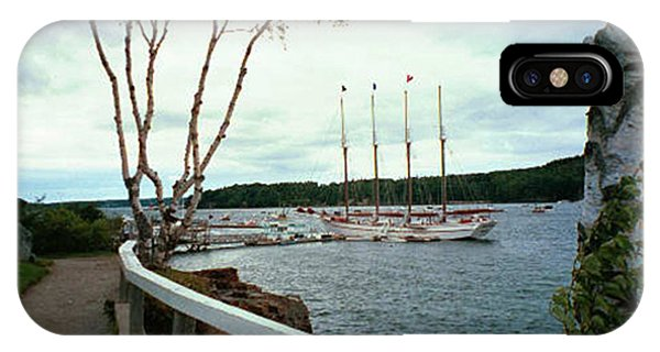 Shore Path In Bar Harbor Maine IPhone Case